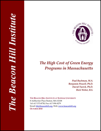 The High Cost of Green Energy Programs in Massachusetts
